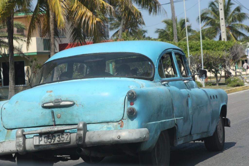Kuba Urlaub Havanna Auto
