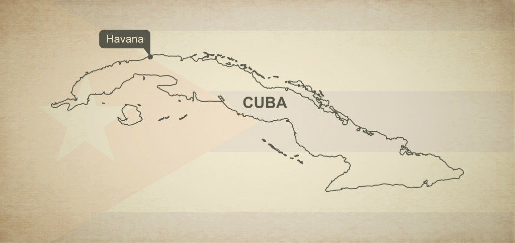 Kuba Urlaub Rundreise Havanna Karte