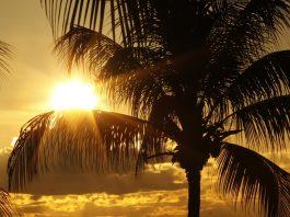 Kuba Sonnenuntergang Meer Urlaub