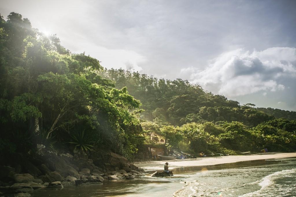 Kuba Landschaft Meer Urlaub
