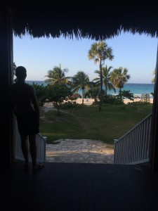 Kuba Strand Aussicht