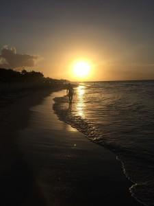 Kuba Strand Varadero Sonnenuntergang